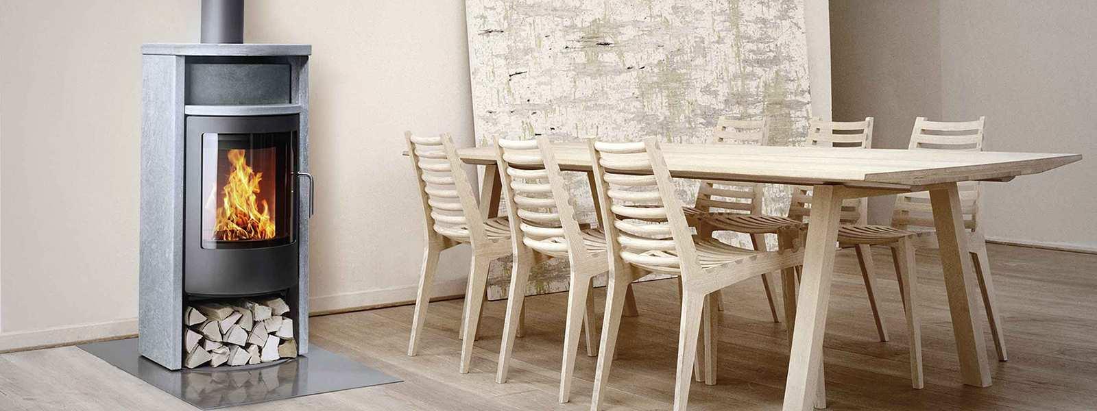 kaminofen bando zeitloses design von attika. Black Bedroom Furniture Sets. Home Design Ideas