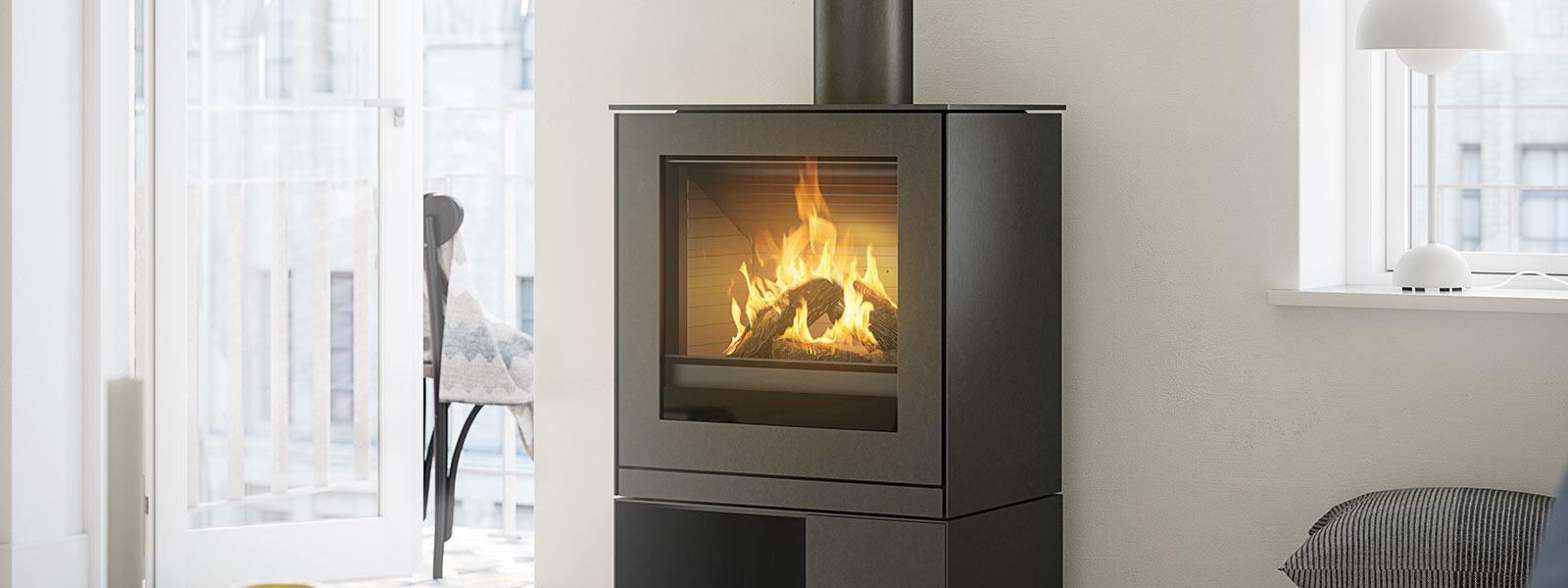 gas kaminofen q tee 2 gas von attika ein ganz sch n imponierender gasofen. Black Bedroom Furniture Sets. Home Design Ideas