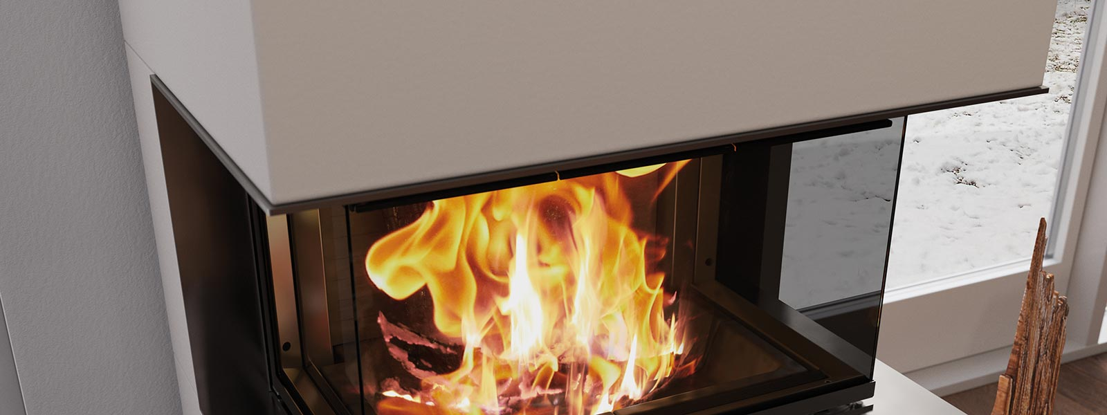 kamineinsatz visio 3 element feuergenuss pur. Black Bedroom Furniture Sets. Home Design Ideas
