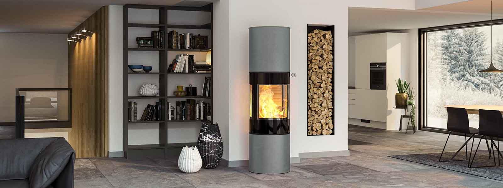 kaminofen viva 160 l vielfache gestaltungsm glichkeiten pr miertes design. Black Bedroom Furniture Sets. Home Design Ideas