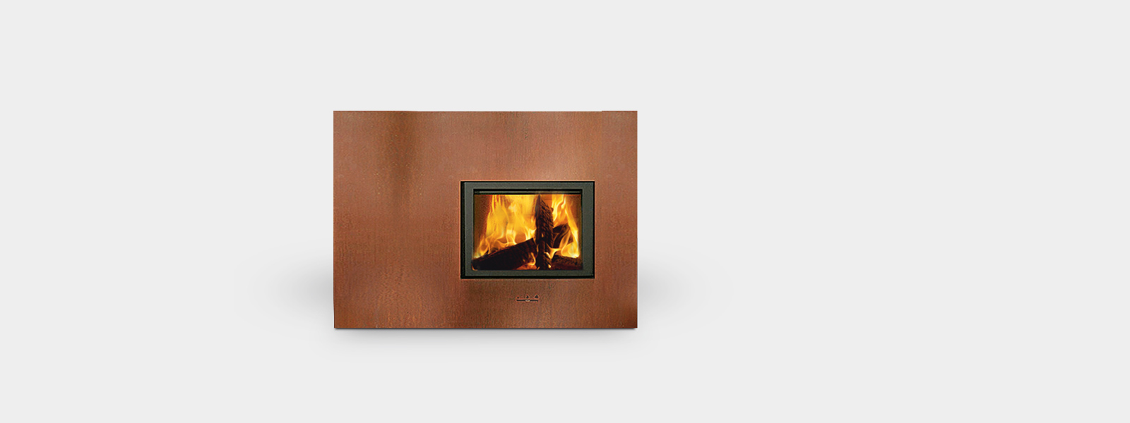 Offerta speciale stufa a legna X-BOARD - divisorio camera di design