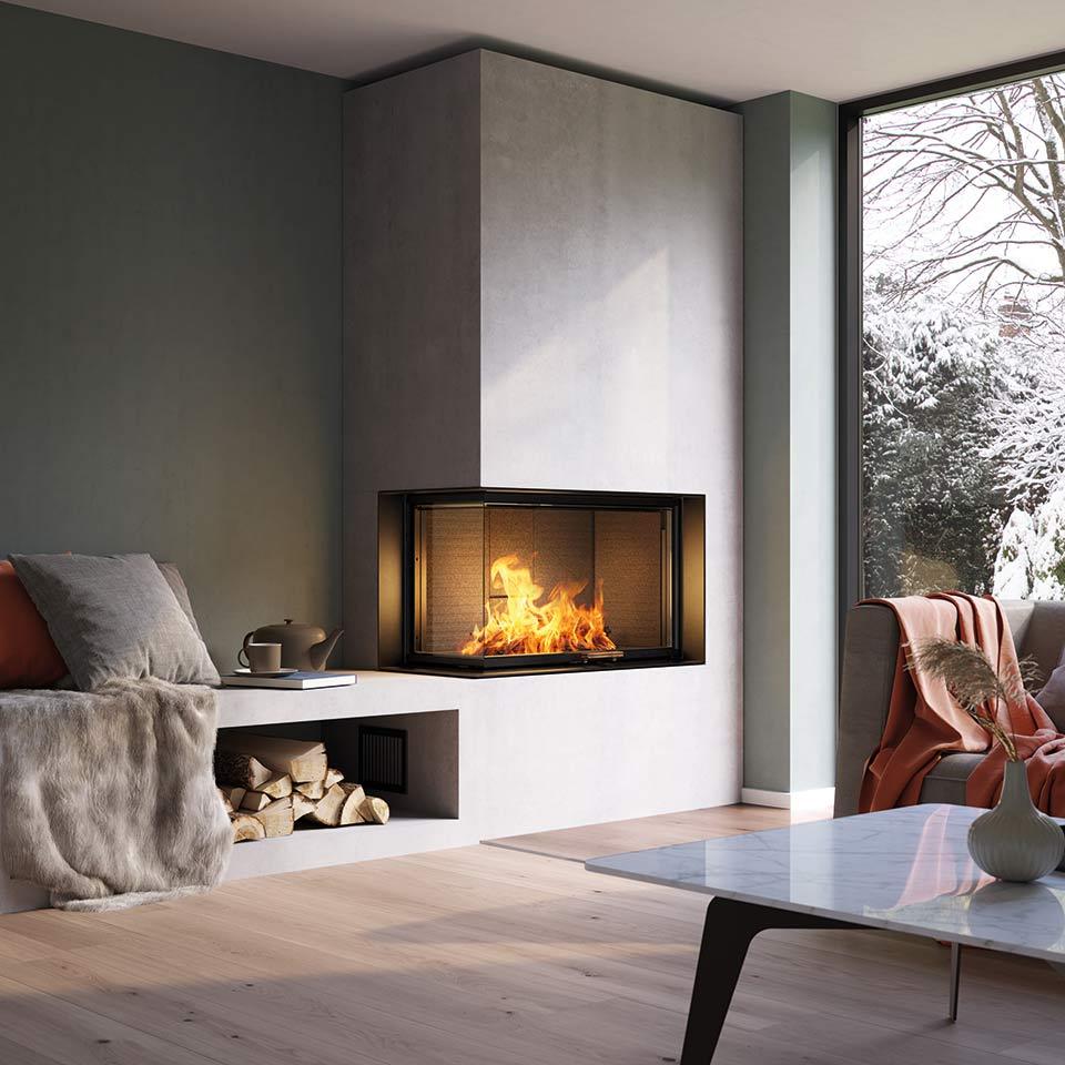Rivenditori Caminetti Bioetanolo Roma stufe e inserti per caminetti - design e qualità di attika