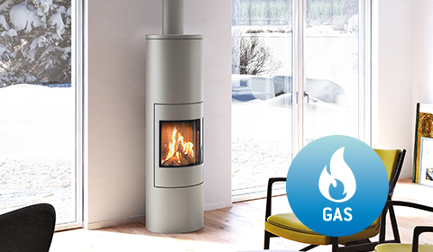 Fireplace stoves in high quality and modern design by Attika